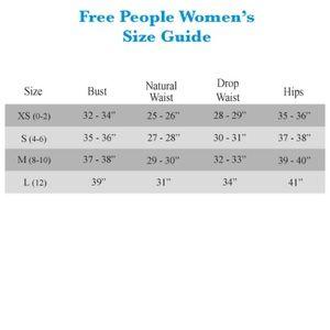 Free People Tops - NWT Mod Stripe Cuff Thermal